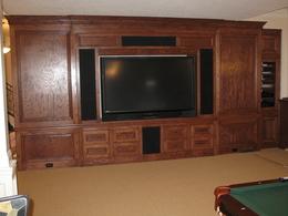 Kitchen Cabinets Entertainment Center kitchen cabinets, carl's custom carpentry entertainment centers